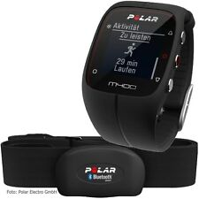 Polar M400 Running Sport Watch GPS Black w/ HRM   90051339   AUTHORIZED DEALER!