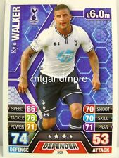 Match Attax 2013/14 Premier League - #309 Kyle Walker - Tottenham Hotspur