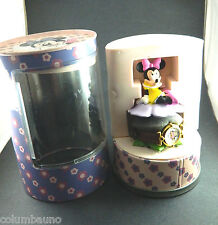 NEW VINTAGE IN ORIGINAL BOX  MINNIE MOUSE  LADIES/GIRLS  WATCH/COLLECTIBLE