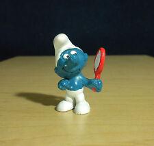 Smurfs Vanity Smurf Red Mirror Classic Vintage Figure PVC Toy Figurine Lot 20017