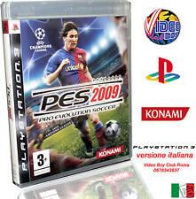 PRO EVOLUTION SOCCER 2009 PES NUOVO ITALIANO SONY PS3