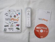 Wii PLAY AND OFFICIAL WII REMOTE CONTROLLER