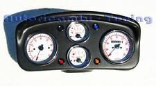 CRUSCOTTO ABARTH COMPLETO STRUMENTI BIANCHI FIAT 500