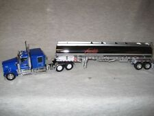 DCP 1/64 CARLILE TRANS. KENWORTH W900L PETRO TANKER TRAILER ICE ROAD TRUCKER