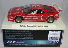 FLY 99119 SLOT CAR BMW M1 #1 EDICION ESPECIAL BECKER 2008  MB