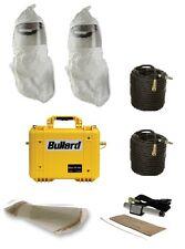 Bullard 2 Man 30cfm Clean Air Box, (2) Double Bib Hood, 200' Hose, 2 Cool Tubes