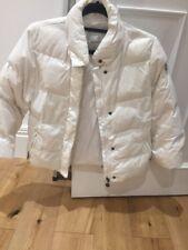 Niñas Chaqueta de Abrigo de Esquí Chicos Blancos Moncler 8 Abajo Llena