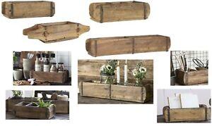 IB-Laursen Holz Ziegelform Unika Aufbewahrung Deko Box Kiste Kasten