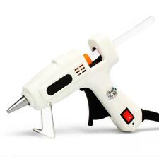 25W AC 100-240V Hot Melt Glue Gun + 30pcs 7x200mm Premium Glue Sticks Kit DE