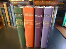 THE SHAPING OF AMERICA Vols 1-4, D.W. Meinig 1st editions, Yale University Press