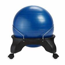 Gaiam Adjustable Custom Fit Balance Ball Chair Blue