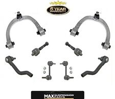 Front Upper Control Arms Inner Outer Tie Rods Sway Bar Links Fits Acura RL 05-12
