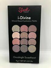 Sleek i-Divine Mineral Based Eye Eyeshadow Palette Goodnight Sweetheart BNIB