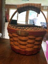 2002 Longaberger Woven Memories Basket