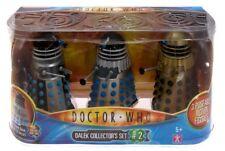 Doctor Who Dalek Collectors Set #2 Saucer, Emperor, Supreme Brand New Mint @~