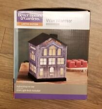 """Better Homes & Gardens Limited Edition Wax Warmer Galvanized House  7"""""""