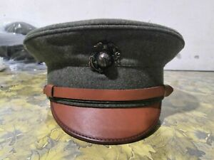 Brand New USMC Forest Green Wool Hats 1912 Preproduction