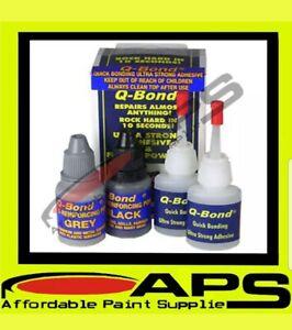 Q-BOND Plastic Repair Kit Qbond Bonding Glue, Small