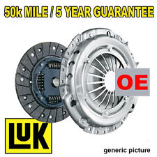 FITS PEUGEOT BOXER 2.2 HDI 120 (2006-) OE REPSET CLUTCH KIT 3 PC RELEASE BEARING
