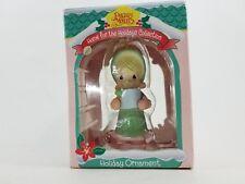1995 Precious Moments Home For The Holidays Girl Caroling Christmas Ornament New