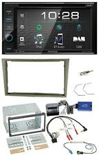 Kenwood USB DVD DAB Lenkrad Bluetooth 2DIN Autoradio für Opel Corsa D Astra H Za