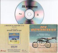 JOE BONAMASSA Never Give All Your Heart 2015 UK 1-trk promo test CD
