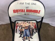 WWE Ringside Folding Chair Royal Rumble 2010 Atlanta Wrestling Collectible