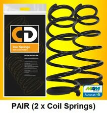 Mercedes-Benz C-Class Saloon 2000-2007 Rear Coil Springs (Pair) OE 2023241804