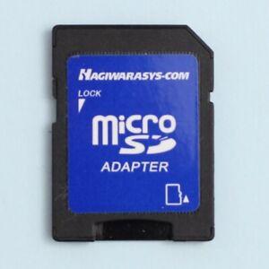 Genuine Hagiwara Sys-Com Micro SD (MicroSD) to SD Memory Card Adapter