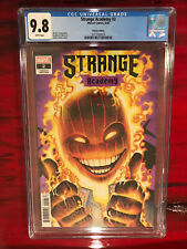 Strange Academy #2 CGC 9.8 Arthur Adams Variant Cover Dr. Strange Marvel Comics