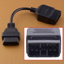 Car Connector Auto Diagnostic Adapter Cable for Subaru 9pin to 16Pin OBD1 OBD2