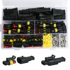 1-6 Pin Car Electrical Wire Cble Waterproof Connector Plug Terminal Fuse Kits