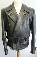 VINTAGE WW2 GERMAN LUFTWAFFE HORSEHIDE LEATHER FLYING JACKET SIZE 48