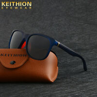 KEITHION New Square Polaried Sunglasses Men Women Vintage Driving Glasses UV400