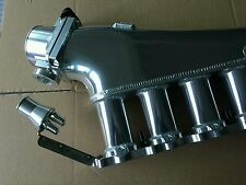 Zerofab Rb20det billet intake manifold w/ fuel rail and 90mm throttle rb20