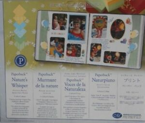 """Creative Memories 10"""" X 12"""" NATURE'S WHISPER PHOTO MOUNTING PAPER - 12 SHEETS"""