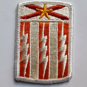 U.S. ARMY AUFNÄHER PATCH 53RD SIGNAL BRIGADE COLOR NEU ORIGINAL