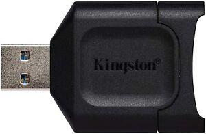 Kingston MobileLite Plus (MLP) SD Card Reader USB 3.1(3.2 Gen1) SDHC/SDXC UHS-II