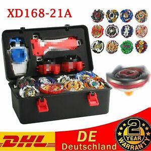 12X 4D Für Beyblade Burst Starter Bayblade Spielzeug Geschenk + Launcher mit Box