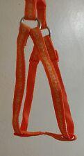 DOG Harness e Lead Set Cuori Design 45 _ 60 cm sul petto piccole medie dimensioni Arancione