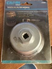 Genuine Capri Tools (21026) Toyota Oil Filter Wrench NEW in Package