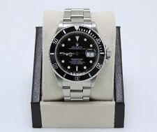 Rolex Submariner 16610 Date Black Dial Stainless Steel
