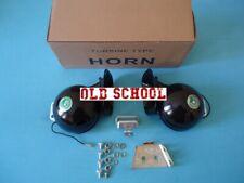Snail horns Pair 12v 115 db Fits: Chevy impala bel air chevelle apache car truck