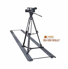 EImage Portable Slider Dolly with max. 50kg payload fit for any tripod ED-330