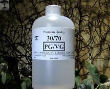 30/70 PG-VG PROPYLENE GLYCOL/VEGETABLE GLYCERIN JUICE LIQUID BASE 16 oz.