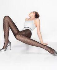 BNIB 100% Auth Wolford, Ladies Luxury Tulip tights In Black & White. S