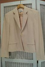 COURREGES Paris Vintage Blazer EU38/M EUC Zig Zag Textured Wool Blend Jacket