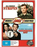 Groundhog Day / Stripes - Rare DVD Aus Stock New Region 4