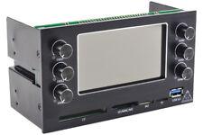 """Phobya MaxGuide 6 Dual 5.25"""" Bay Fan / Pump VFD Controller"""
