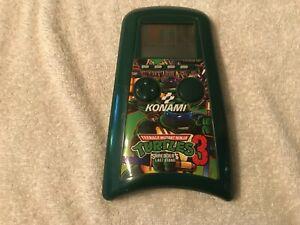 Teenage Mutant Ninja Turtles 3 Shredder's Last Stand Konami LCD Video Game!